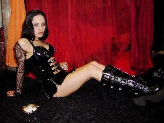 gothic fetisch cam